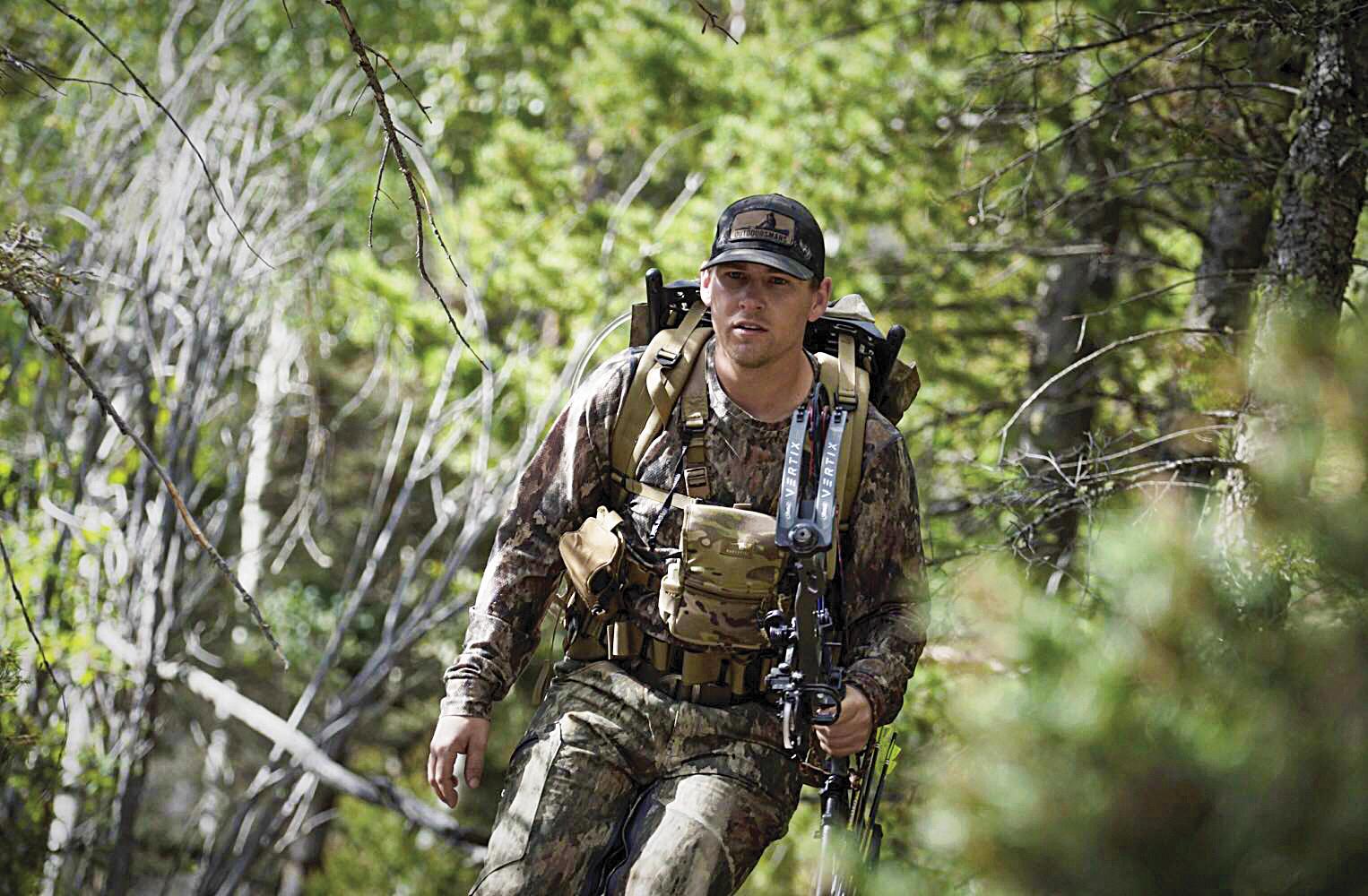 Mark Denham archery hunting.