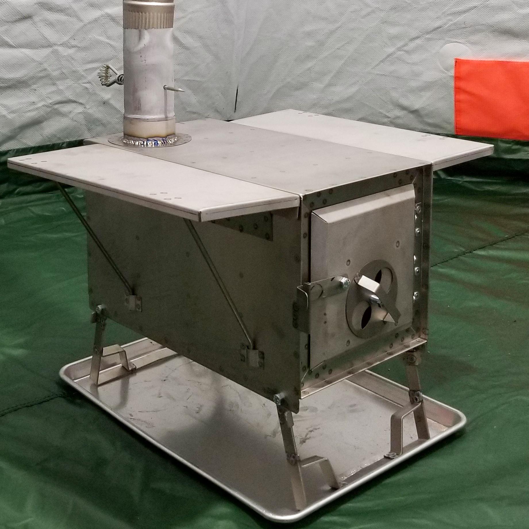 The Four Dog Titanium Ultra Lite 1DX hunting stove